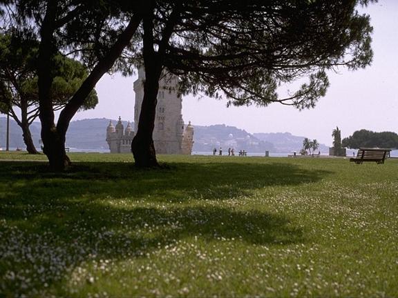 Jardins da Torre de Belém