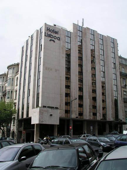 Hotel Lisboa Rua Barata Salgueiro No
